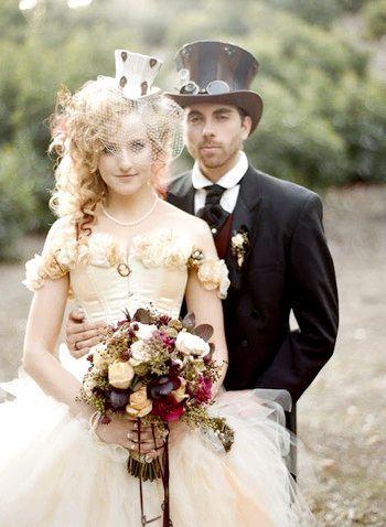 Як влаштувати весілля в стилі Аліси в країні чудес. Фото з сайту svadba-msk.ru