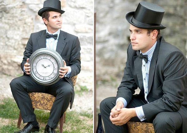 Образ нареченого може бути яскравим, а може бути стриманим і стильним. Фото з сайту christa-hann.com