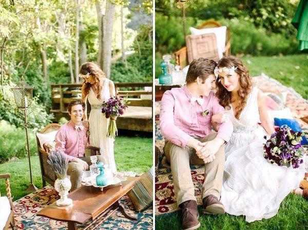 Фото - Весілля в стилі бохо, або свобода від умовностей