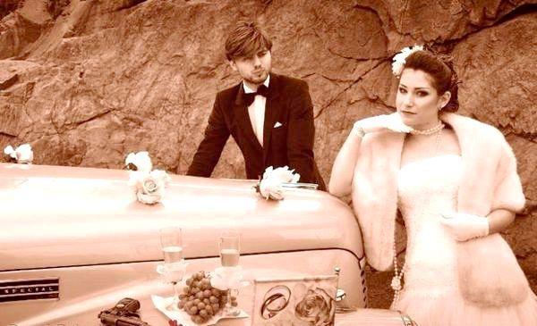 Як влаштувати весілля в стилі ретро? Фото з сайту davai-pojenimsya.ru