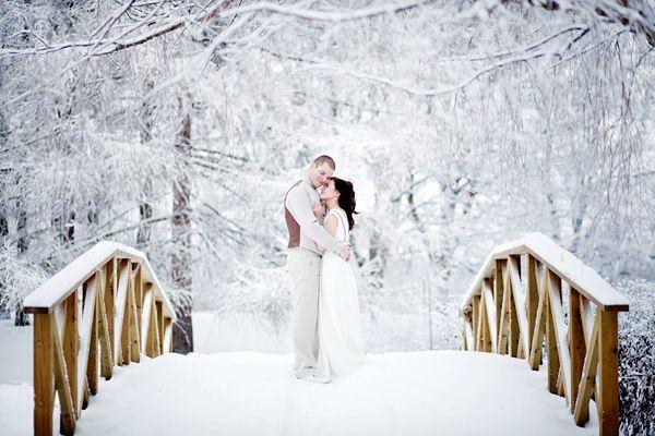 Зимова романтика. Фото з сайту weddomosti.livejournal.com