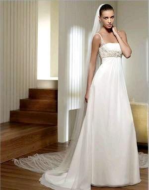 Фото - Весільні сукні для вагітних, або що вдягнути нареченій «з плюсом»