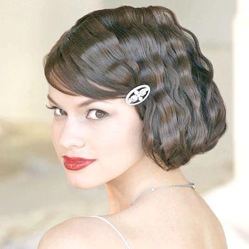 Фото - Весільні зачіски з чубчиком - ніжні й елегантні образи