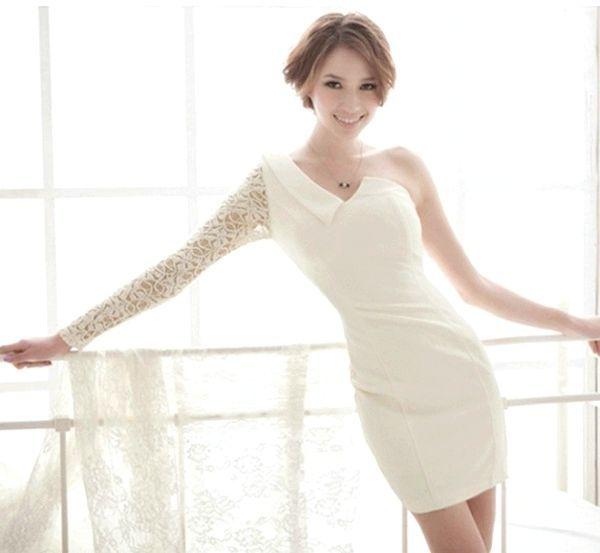Як вибрати весільну сукню-футляр. Фото з сайту modadonni.com