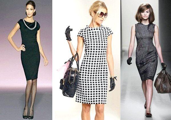 Вибираємо свою сукню-футляр. Фото з сайту trendygirl.ru