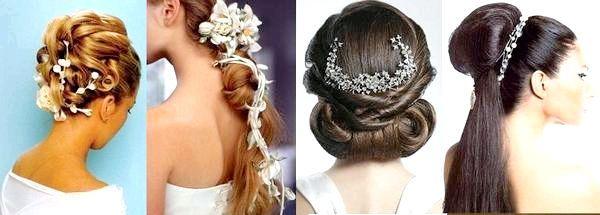 Вибираємо свою весільну зачіску. Фото з сайту https://silky-hair.ru/