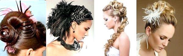 Довге волосся - різні способи укладання до весілля. Фото з сайту https://silky-hair.ru/