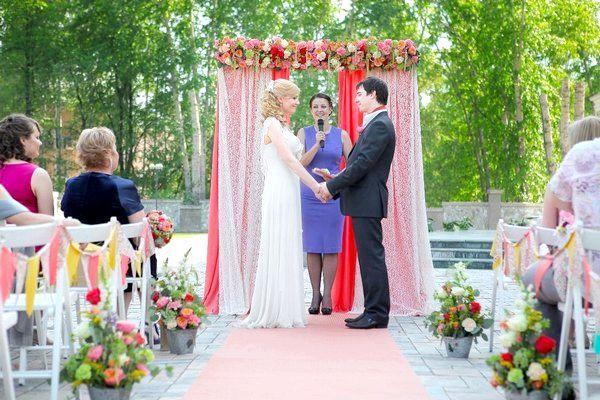 Як провести виїзну церемонію одруження