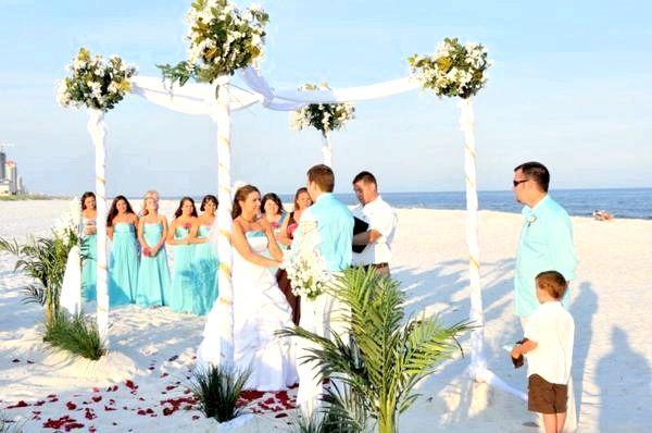 На березі моря - реєстрація шлюбу. Фото з сайту saratov.strana-krasoty.ru