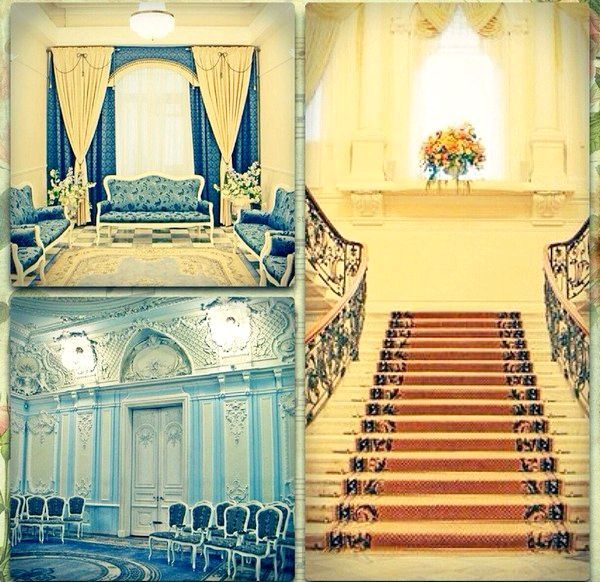 Гарний палац одруження на Фурштатской. Фото з сайту http://vk.com